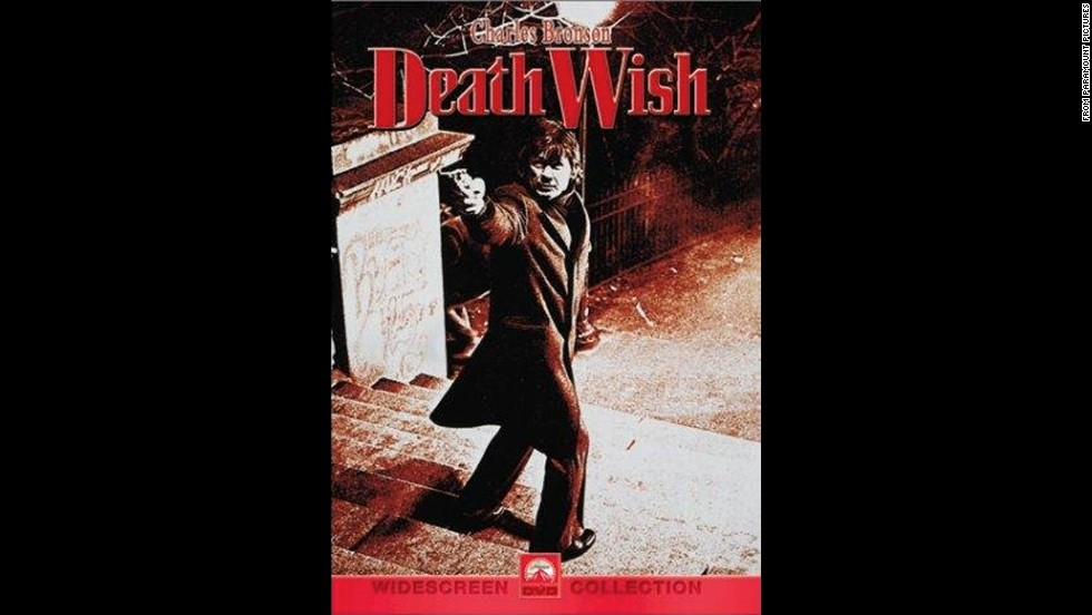 "When ""Death Wish"" was released in 1974, it caused quite a stir with its vigilante justice. Charles Bronson stars as a man who wantonly kills criminals after his wife is murdered by a group of thugs."