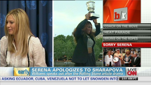 Game 6 injuries & Serena-Sharapova fued