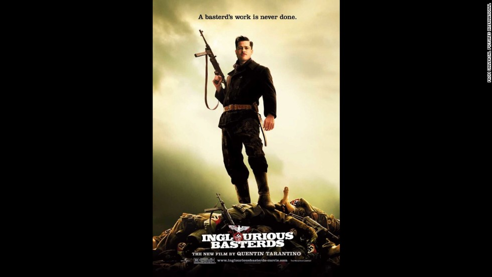 "Tarantino used France during World War II as the setting for much violence in 2009's ""Inglourious Basterds."""