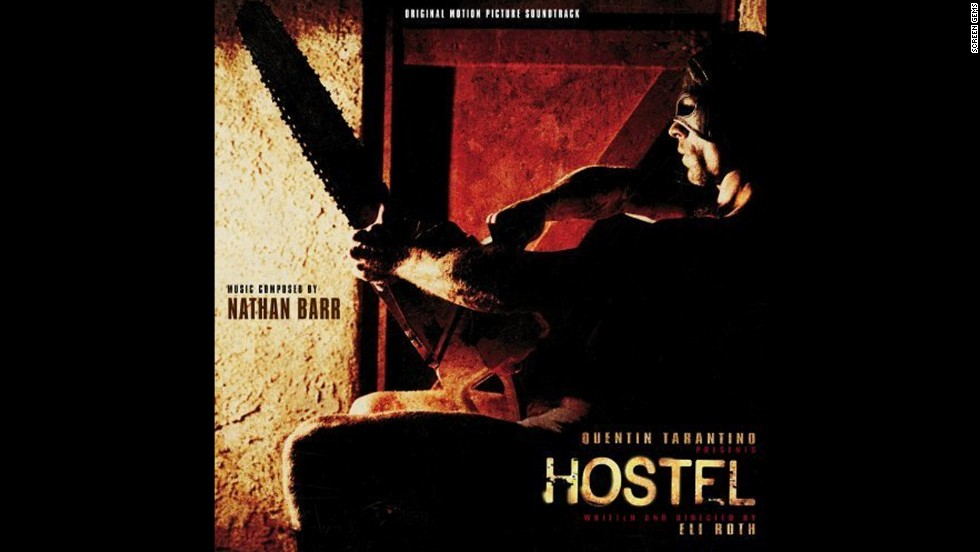 "Amsterdam serves as the bloody backdrop of 2005's ""Hostel,"" in which a group of travelers get more than they bargained for."