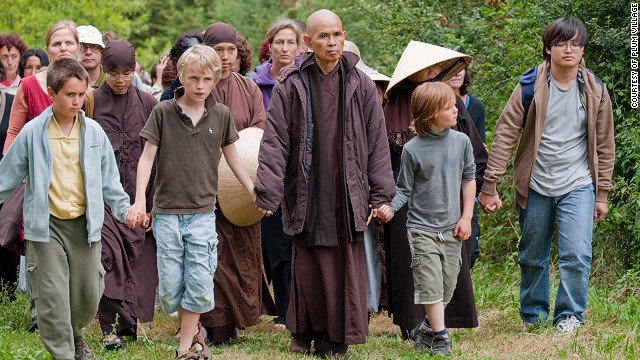 Vietnamese monk Thich Nhat Hanh was nominated by Martin Luther King Jr. for the Nobel Peace Prize.