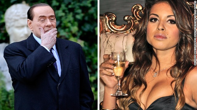 Berlusconi found guilty in sex case