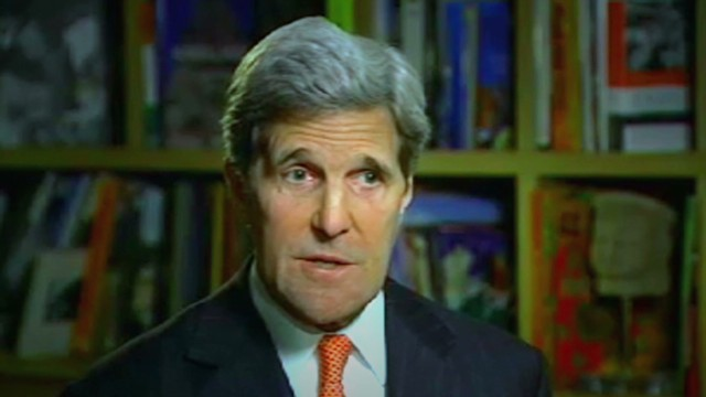 Secretary Kerry sits down with CNN