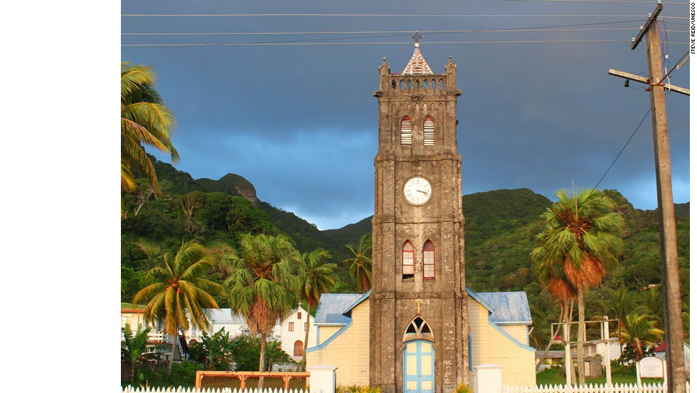 "Levuka's historic port was Fiji's first colonial capital -- it was ceded to the British in 1874. The atmospheric town is set among coconut and mango trees along the beach. ""It is a rare example of a late colonial port town that was influenced in its development by the indigenous community which continued to outnumber the European settlers,"" says UNESCO's inscription."