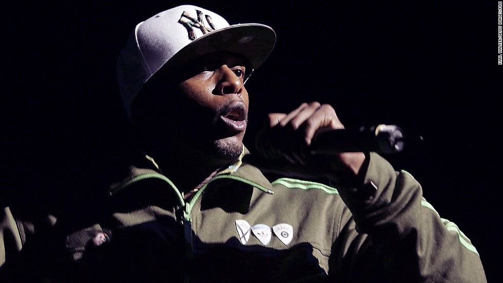 Talib Kweli, 37, began rapping in the mid-1990s and quickly became known for his provocative lyrical content. Here, he performs in Universal City, California, in 2005.
