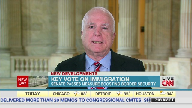 McCain on immigration bill