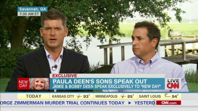Deen brothers support Paula Deen