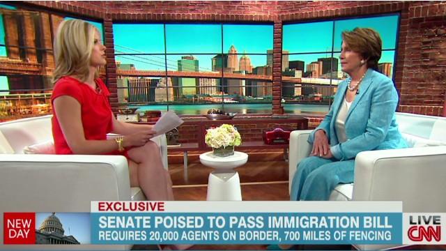 Pelosi: Immigration overhaul must pass