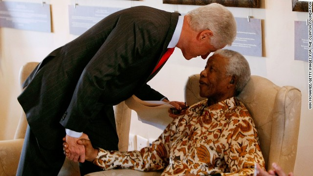 Nelson Mandela and America's Presidents