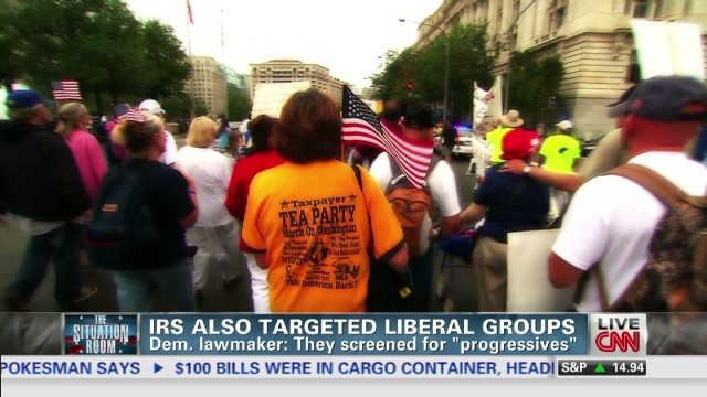 IRS also targeted liberal groups
