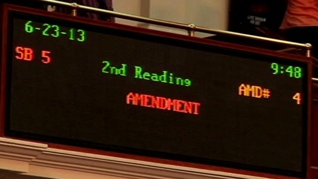 Texas House debates, passes abortion bill
