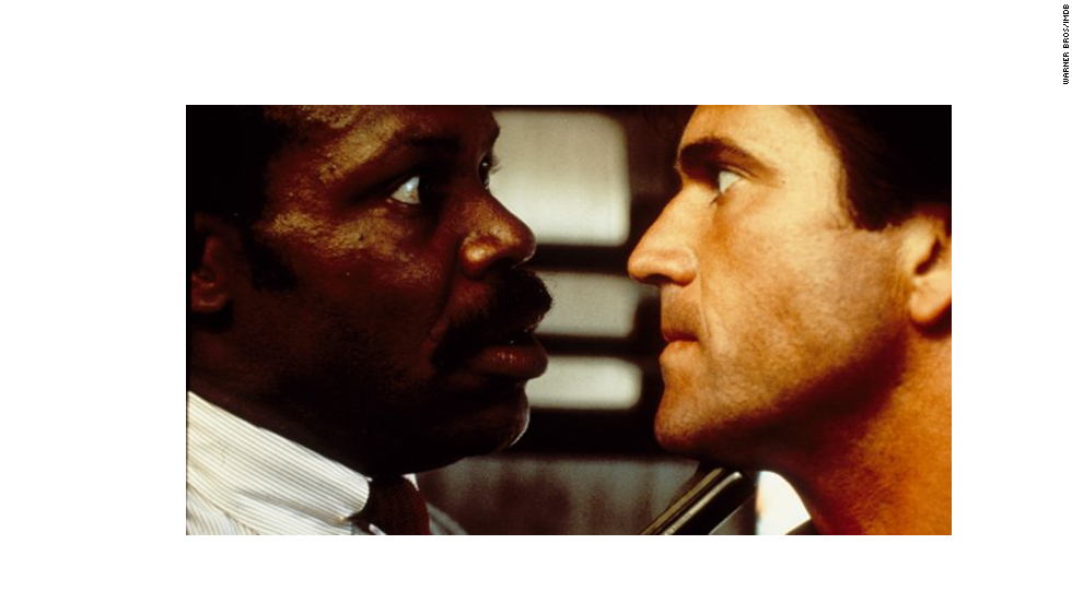 "Perhaps the gold standard for buddy cop movies, Danny Glover, left, and Mel Gibson starred in this blockbuster action comedy that spawned three sequels over the years. Edging closer to retirement (a constant theme for any buddy cop movie), Glover will forever be ""too old for this s---."""