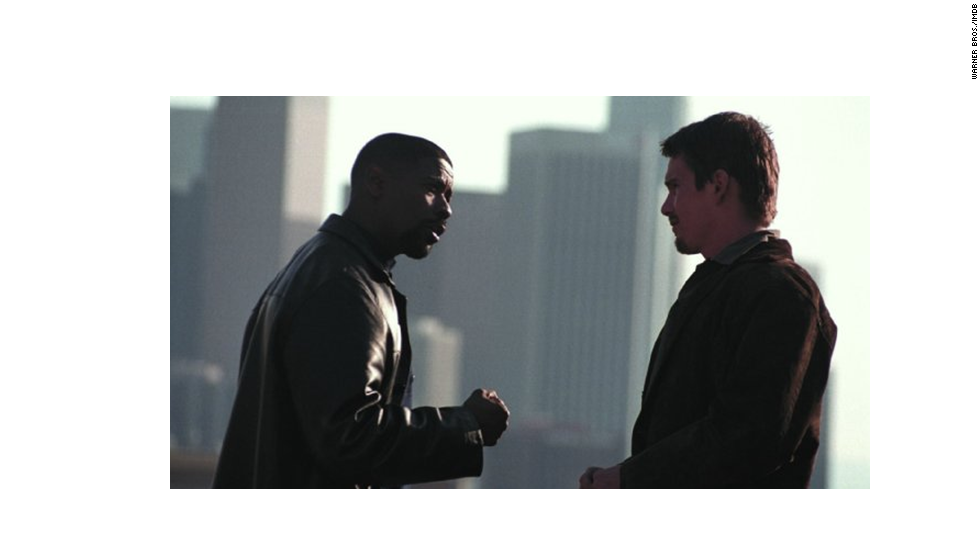 Another more serious take on the genre, this 2001 hit featured Denzel Washington, left, in his Oscar-winning turn as a corrupt cop. Ethan Hawke co-starred.