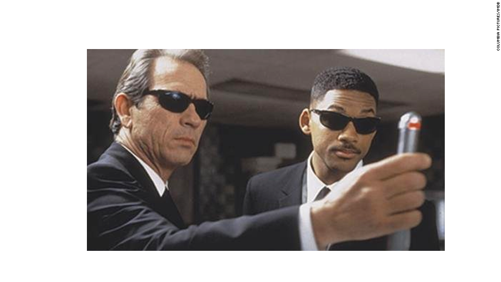 This 1997 comedy is one of the most successful buddy cop movies of all time, with Tommy Lee Jones, left, and Will Smith busting aliens -- perhaps the very definition of a summer crowd-pleaser. The stars tried it for two more summers, and there's always talk of a fourth.