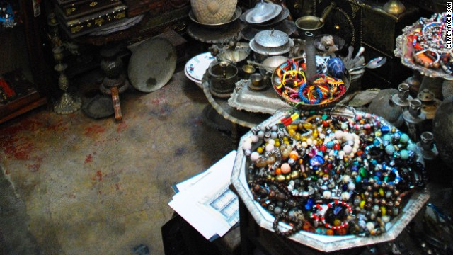 Authentic African and Arabic trinkets in bazaars and backstreet shops.