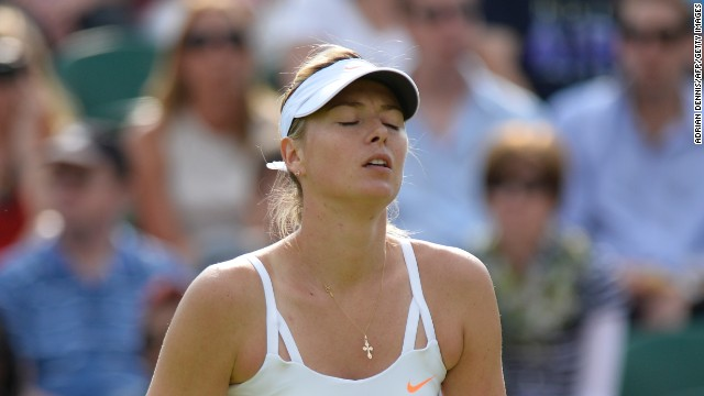 Maria Sharapova, who won the tournament in 2004, suffered a shock second round defeat.