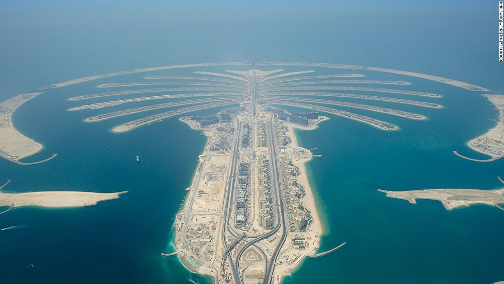 Famous Civil Engineering Structures The Palm islands comprise