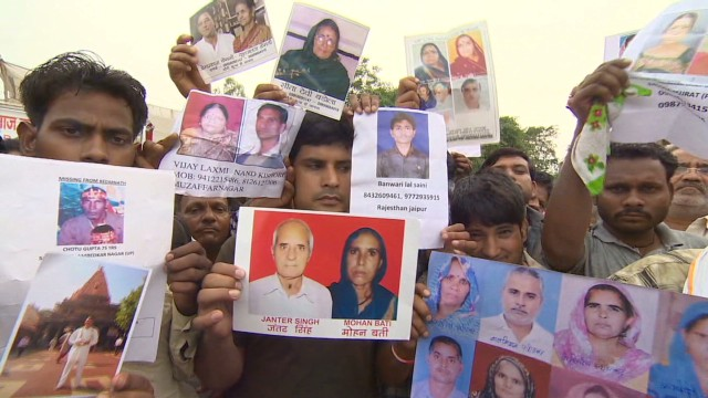 Thousands still missing in India