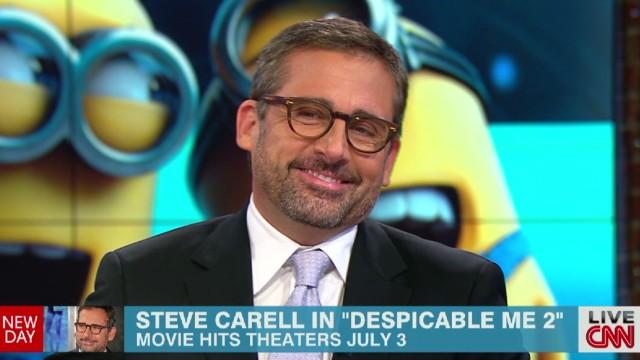 Steve Carell talks 'Despicable Me 2'