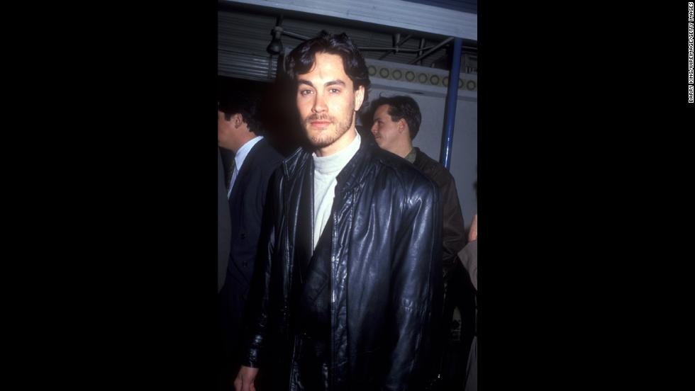 """Twenty years after his father, Bruce Lee's, death, actor Brandon Lee died at 28 after being fatally wounded on the set of """"The Crow."""" The shooting was accidental -- it was supposed to be Hollywood gun play for the sake of the scene -- <a href=""""http://www.ew.com/ew/article/0,,306206,00.html"""" target=""""_blank"""">but it sparked plenty of rumors that Lee's death wasn't an accident.</a>"""