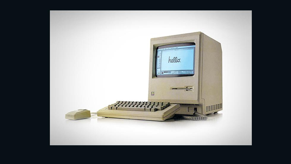 """When Apple Mac said hello to the world in 1984 it turned the computing industry on its head,"" says Dick Powell, co-founder of design agency SeymourPowell. ""It seamlessly combined outstanding software and hardware into an experience. Other than the Jobs-less years it spent in the innovation wilderness, it's still doing it."""