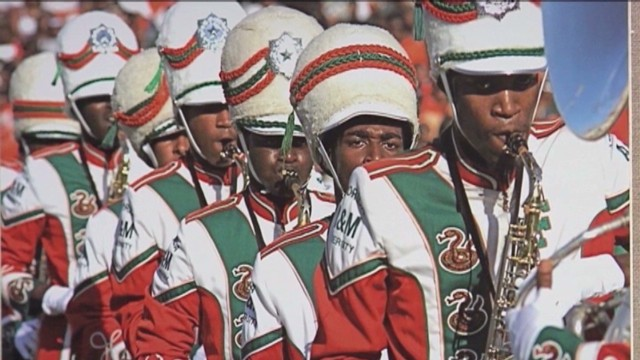 June: Florida A&M reinstates marching band
