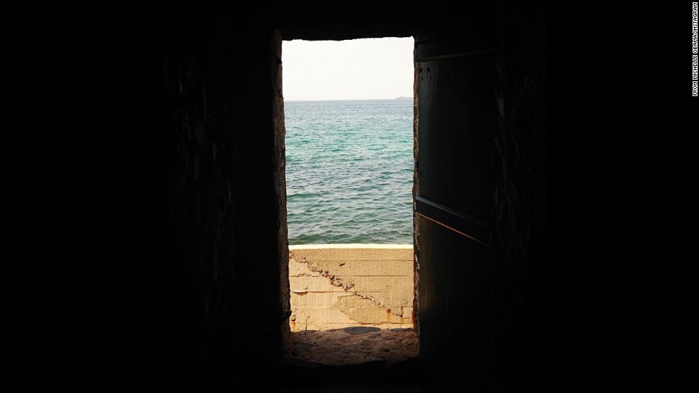 "Obama posted: ""The Door of No Return on Goree Island."""