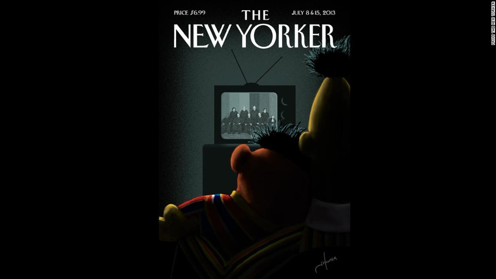 The New Yorker's next issue features artwork by Jack Hunter in reaction to the Supreme Court's rulings.