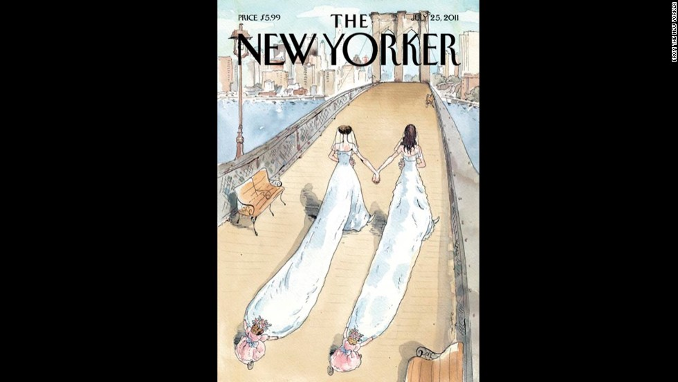 The New Yorker's July 25, 2011, cover.