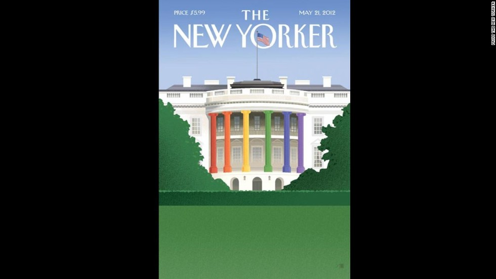 The New Yorker's May 21, 2012, cover.