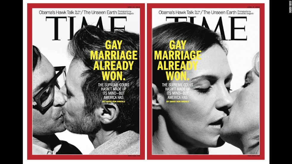 Time magazine's April 8, 2013, double cover.