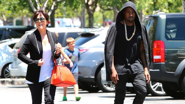Kris Jenner and Kanye West are close enough that the usually media shy rapper sat for an interview.