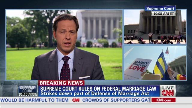 Supreme Court strikes down part of DOMA
