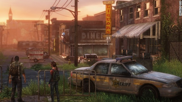 """The Last of Us"" follows the journey of two survivors, Joel and Ellie, fighting for life in a post-apocalyptic world."