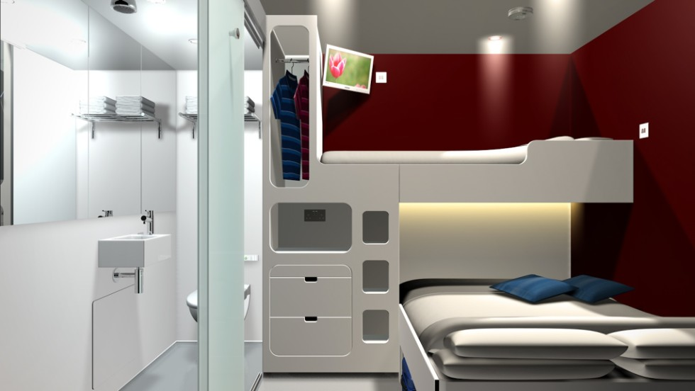 Employing different aesthetics, Snoozebox turns a series of shipping containers into mini, short-lived hotels. The pop-up hotel chain tends to set up near major events, such as the G8 summit in Northern Ireland last month.