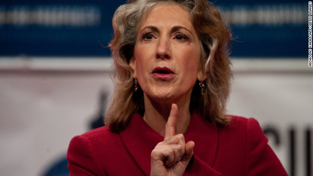 Carly Fiorina, former CEO of Hewlett Packard, speaks at a 'Cut Spending Now' rally at the conservative Americans for Prosperity (AFP) 'Defending the American Dream Summit' in Washington on November 5, 2011. AFP PHOTO/Nicholas KAMM (Photo credit should read NICHOLAS KAMM/AFP/Getty Images)