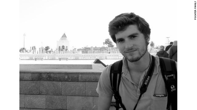 The family of the American killed in Egypt has identified him as 21-year-old Andrew Driscoll Pochter, a college student who had gone to Alexandria for the summer to teach English to children.