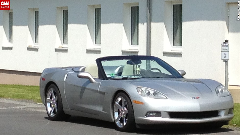 "<a href=""http://ireport.cnn.com/docs/DOC-995983"">Jim Zingg</a> named his C6 Corvette convertible Lailani. ""I'm not giving her up. I searched for almost two years to find the perfect Corvette,"" he said."