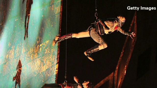 Performer dies at Cirque du Soleil