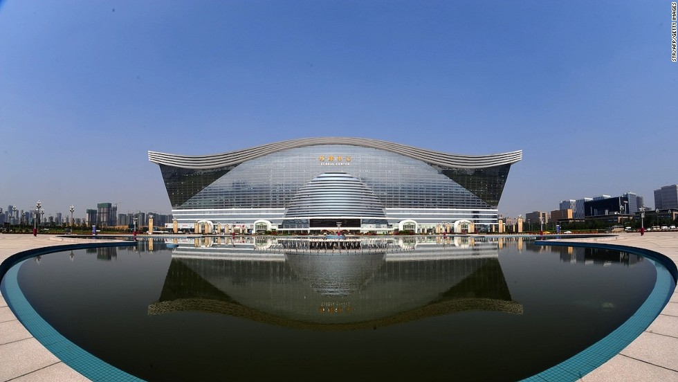 To put this in perspective, Chengdu's New Century Global Center is big enough to house 20 Sydney Opera Houses.