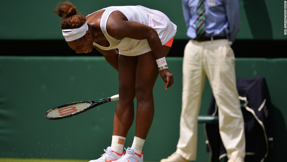 Williams, who had previously gone 34 matches without defeat, struggled to match her opponent in the opening set as Lisicki made a superb start.