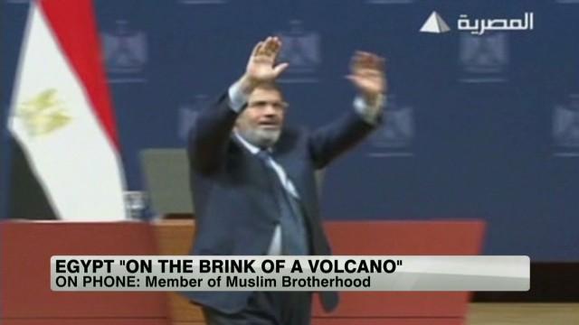 Muslim Brotherhood reacts to ultimatum