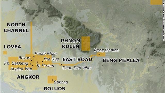 Yellow indicates aerial surveys areas.