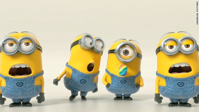 "The minions once again appear in ""Despicable Me 2."""