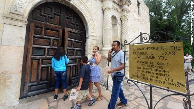 """Texas Land Commissioner Jerry Patterson says the Alamo should be treated """"as the hallowed ground that it is."""""""