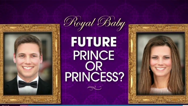 How will the royal baby look like?