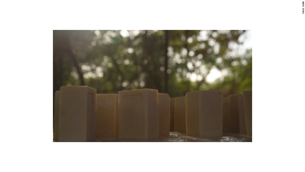 """""""Our soap will fulfill the desire of the population to be clean, as well as protect them from malaria, without any additional cost to them,"""" says Niyondiko."""