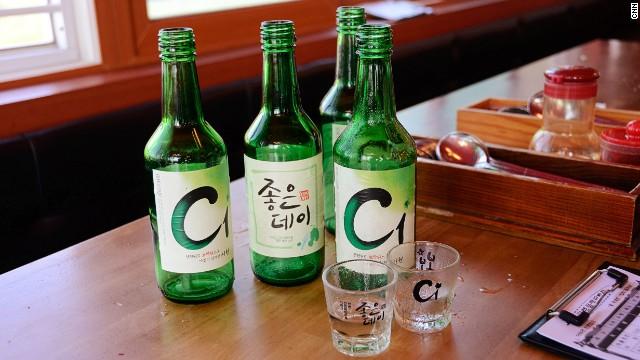 Busan variations of soju.