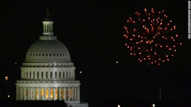 Budget cuts mean no fireworks for troops