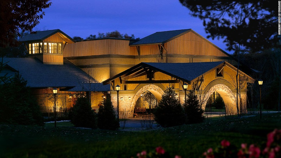 At the Lodge at Woodloch, spa options include the Royal Revival (a hops, barley and honey exfoliation, plus beer bath inspired by Dogfish Head's Midas Touch ale) and the Mud and Suds Pedicure, a beer foot soak paired with a glass of brew.